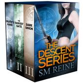 The Descent Series Collection, Books 1-3: Death's Hand, The Darkest Gate, and Dark Union: An Urban Fantasy Novel