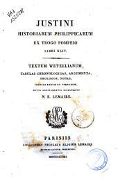 Caius Crispus Sallustius ad codices parisinos recensitus cum varietate lectionum et novis commentariis item Julius exsuperantius e codice nondum explorato emendatus curante J. L. Burnouf ..