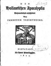 Den Hollantschen apocalypsis