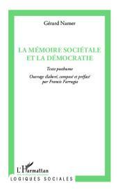 La mémoire sociétale et la démocratie