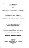 Lectures on the Comparative Anatomy and Physiology of the Invertebrate Animals PDF