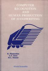 Computer Recognition and Human Production of Handwriting PDF
