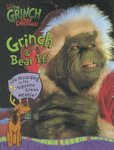 How The Grinch Stole Christmas Grinch And Bear It Book PDF