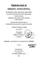 Theologiae cursus completus
