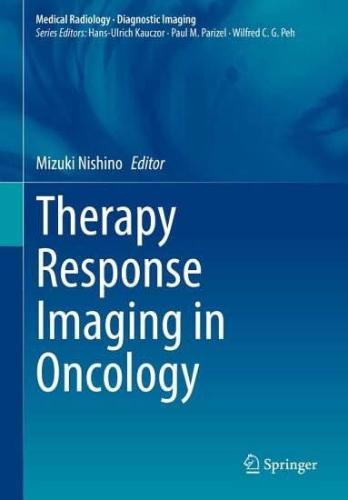 Therapy Response Imaging in Oncology PDF