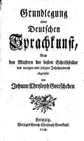 Grundlegung einer deutschen Sprachkunst