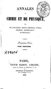 Annales de chimie et de physique: Volume30