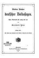 Sieben B  cher deutscher Volkssagen PDF