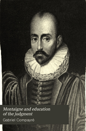 Montaigne and Education of the Judgement
