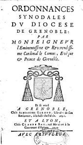 Ordonnances synodales du diocèse de Grenoble
