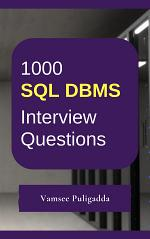 1000 SQL Interview Questions and Answers