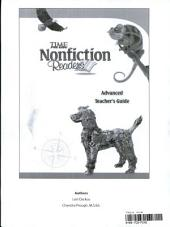 TIME For Kids Nonfiction Readers: Advanced Teacher's Guide