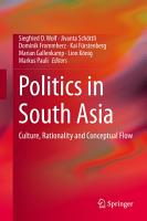 Politics in South Asia PDF
