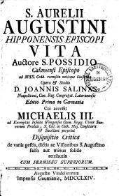 Sancti Aurelii Augustini Hipponensis Episcopi vita