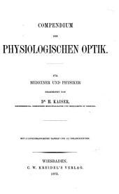 Compendium der physiologischen Optik für Mediciner und Physiker