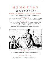 Memorias Históricas Sobre La Marina Comercio Y Artes De La Antigua Ciudad De Barcelona: Volumen 1