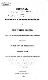 Journal of the House of Representatives of the United States: Volume 20, Issue 2