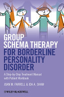 Group Schema Therapy for Borderline Personality Disorder