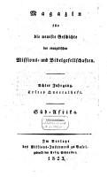 Magazin f  r die neueste Geschichte der evangelischen Missions  und Bibelgesellschaften PDF