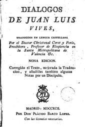 Diálogos de Juan Luis Vives