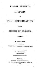 History of the reformation of the church of England: Volume 3, Part 2