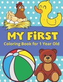 My First Coloring Book for 1 Year Old PDF