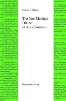The Neo Mandaic Dialect of Khorramshahr PDF