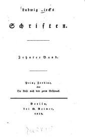 Schriften: Prinz Zerbino, oder die Reise nach dem guten Geschmack, Band 10