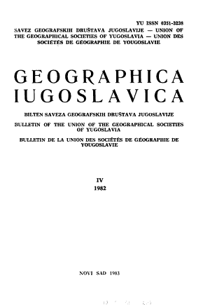 Geographica Iugoslavica