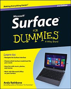 Surface For Dummies Book