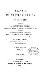 Travels in Western Africa, in 1845 and 1846
