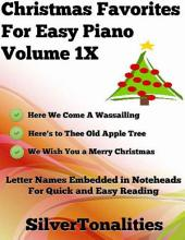 Christmas Favorites for Easy Piano Volume 1 X