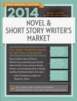 2014 Novel   Short Story Writer s Market PDF