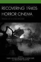 Recovering 1940s Horror Cinema PDF