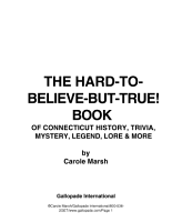 The Hard to Believe but True  Book of Connecticut History  Mystery  Trivia  Legend  Lore  Humor and More PDF