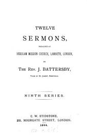 Twelve sermons: Volume 9