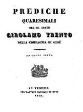 Prediche quaresimali; ed. sesta
