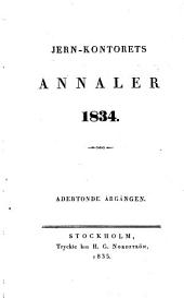 Jern-kontorets annaler: Volym 18,Del 1–4