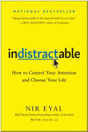Indistractable Book PDF