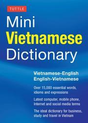 Tuttle Mini Vietnamese Dictionary Book PDF