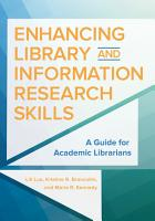 Enhancing Library and Information Research Skills  A Guide for Academic Librarians PDF