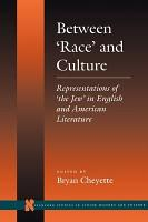 Between  race  and Culture PDF