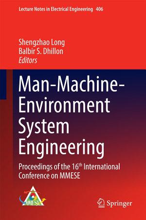 Man-Machine-Environment System Engineering