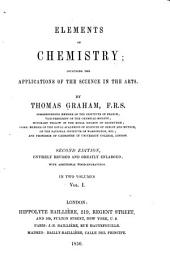 Elements of chemistry: including the applications of the science in the arts