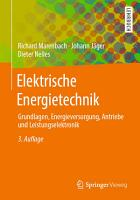 Elektrische Energietechnik PDF