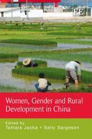 Women  Gender and Rural Development in China PDF