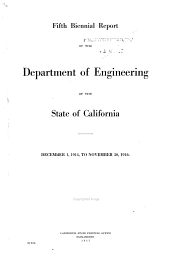 Third Progress Report of the State Engineer to the Legislature of California, Session of 1883