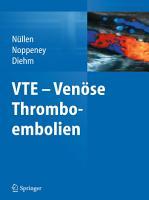 VTE   Ven  se Thromboembolien PDF