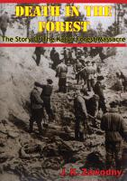 Death In The Forest  The Story Of The Katyn Forest Massacre PDF
