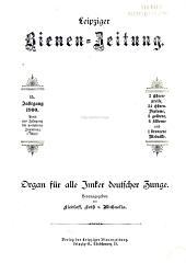 Leipziger Bienenzeitung: Band 15